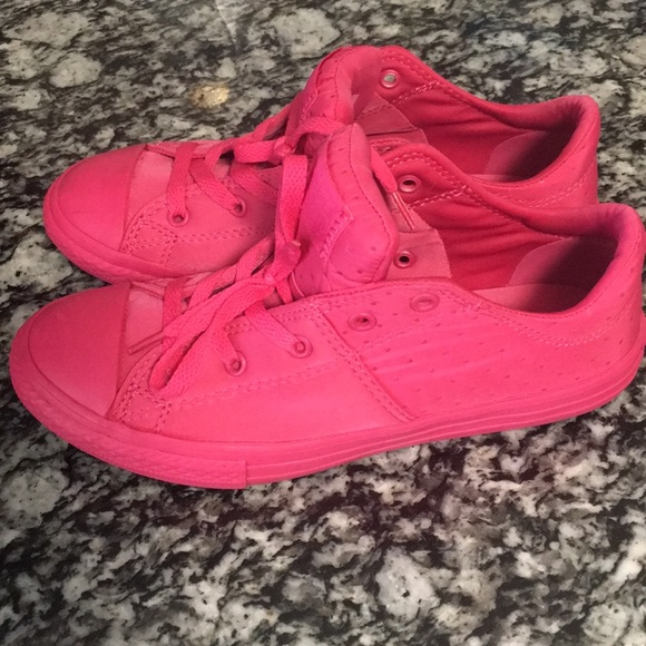 Converse Shoes | Bright Pink Girls Size